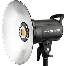 Godox sl-60w 5600 К 60 Вт высокое Мощность светодиодный видео Беспроводной Дистанционное управление с andoer Ремни для камеры для Аксессуары для фотостудий фотографии
