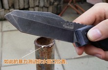 2016 New Home furnishings high hardness steel DC53 outdoor tool field survival knife