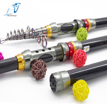 Big sale 2016 Quality Telescopic Fishing Rod Carbon High Quality Carbon Fiber Carbon Spinning Sea Rod Fishing Tackle Tools