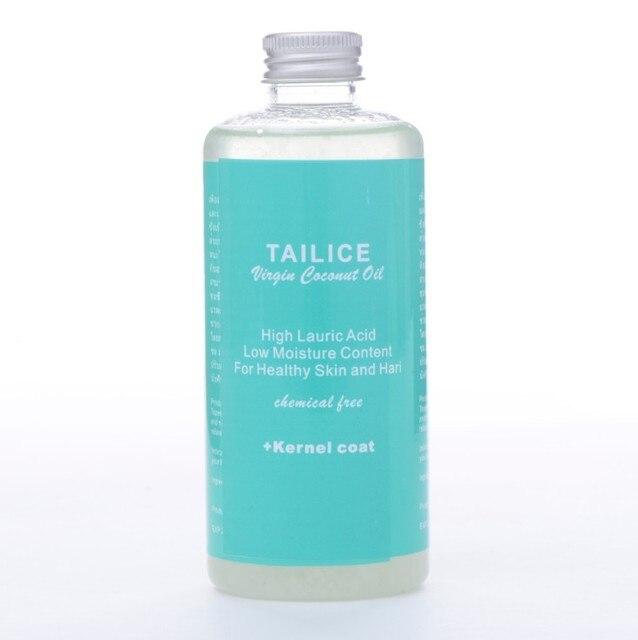 Эфирные масла orgnic кокосового масла 100% натуральный таиланд кокосовое уход за кожей уход за волосами масло 250 мл / Bottle тела массажное масло