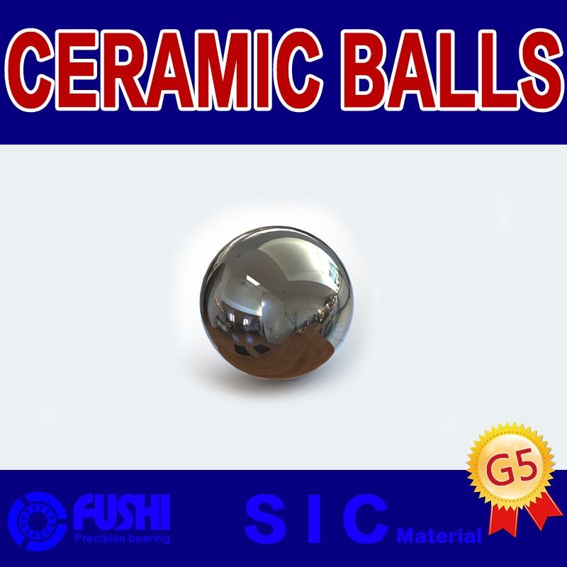 NEW 10pcs  Dia 13//32/'/' Si3N4 Ceramic Bearing Ball G5