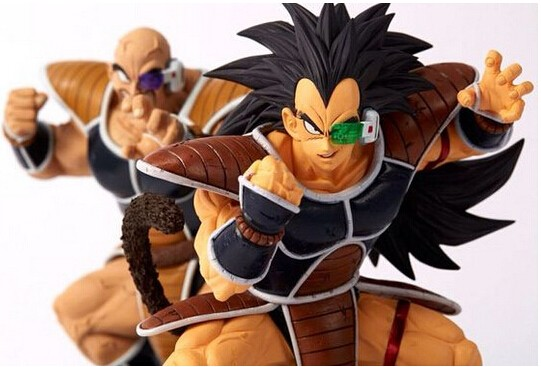 Dragon Ball Z Action Figures Nappa Raditz Son Goku Brother 150mm Anime Dragonball z Action Figure esferas del dragon