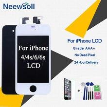Класс AAA + экран ЖК-дисплей для iPhone 6 4S 4 экран Замена экран дисплей хорошее 3D Touch качество для iPhone 6 S ЖК-дисплей S