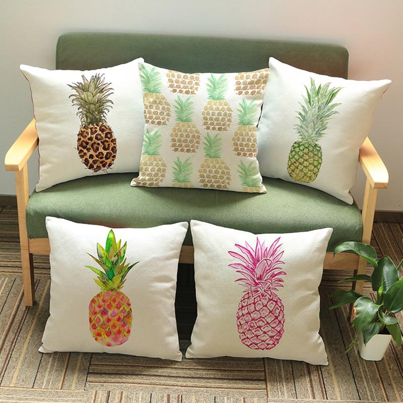 Cushion cover decorative throw pillows fruit series - Fundas cojines sofa ...
