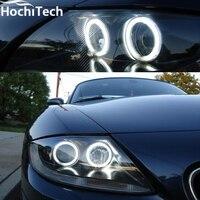Hot Style SMD Angel Eyes Super Bright White Led Halo Light Kit For Bmw Z4 E85
