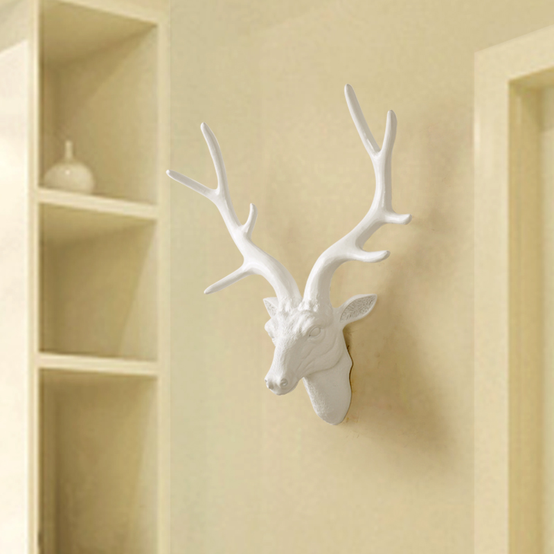 Generous Stag Head Wall Decor Contemporary - Wall Art Design ...