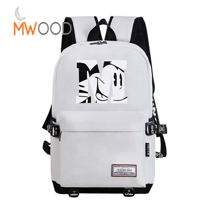 Solid Fashion Youth Backpack For Girls Boys College School Laptop Bags Travel Colorful Causal Korean Mochila para jovenes B-103