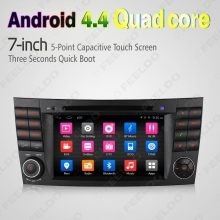 7″ inch Android 4.4.4 Quad Core Car DVD GPS Radio Head Unit For Mercedes Benz CLS W219(05~06) CLS350/CLS500/CLS550 #FD-4620