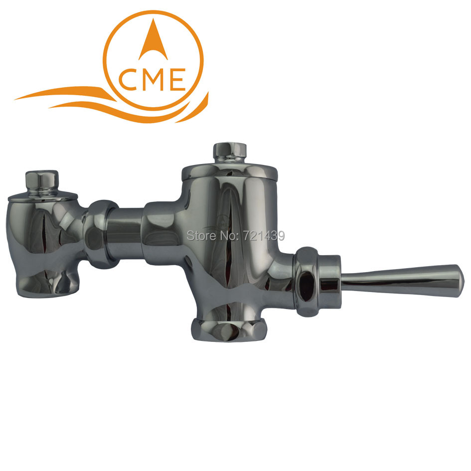 CME toilet stool flush valve time delay valve lever B-01 for squat pan free shipping mj h50 plastic float valve toilet flush valve