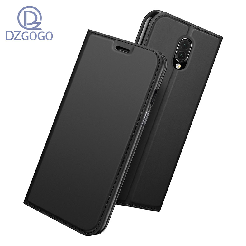 DZGOGO For ONE PLUS Seven Case PU Flip leather Case For ONE PLUS Seven font b