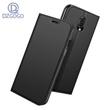 DZGOGO For ONE PLUS Seven  Case PU Flip leather Case For ONE PLUS Seven Pro Wallet Cover capa business style