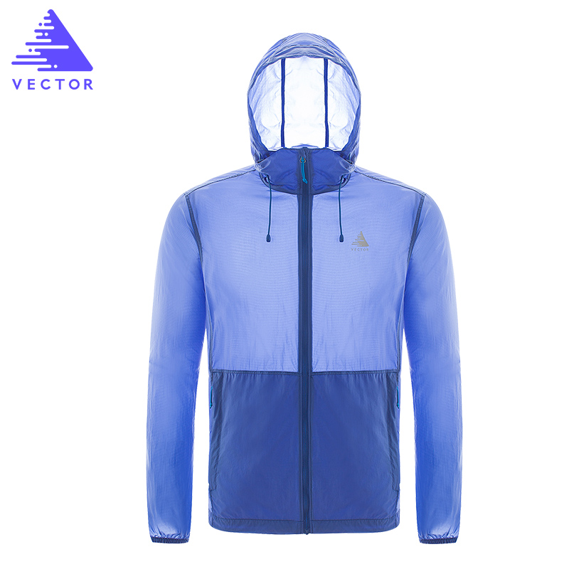 VECTOR Professional Running Jacket Men Women Summer Anti UV Sun Protection Ultralight Outdoor Coat Sport Cycling Hiking 80011 sports outdoor two in one twinset jackets female sun protection clothing anti uv sun protection jacket