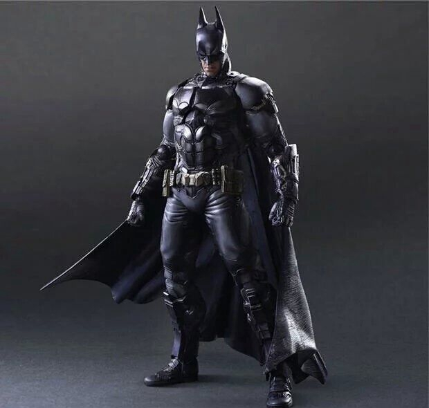 Play Arts Kai Bat Man Bat-man Figure Bruce Wayne Boy Wonder Variant Play Art KAI  27cm PVC Action Figure Doll Toys Kids Gift super street fighter iv akuma gouki white variant play arts kai action figure