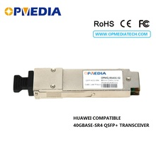 compatible with Hua-wei 40GBASE-SR4 QSFP+ 850nm 100m Transceiver,40G SR4 DDM OM3 optical Module