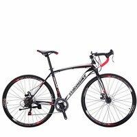 EUROBIKE дорожный велосипед 21 Скорость 700C велосипед двойной тормозного диска Рамка Размеры 49 см велосипед