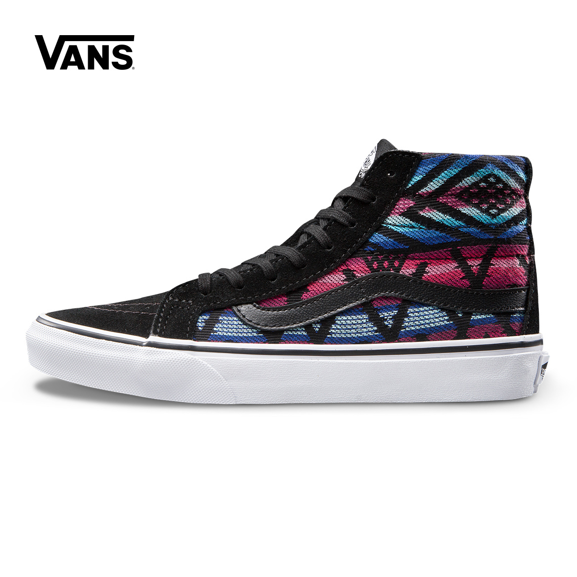 Original Vans High-Top Female Sneakers For Women Skateboarding Shoes Sport Shoes Canvas Breathable Leisure Colorful Top Quality