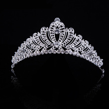Fashion hair jewelry wedding bridal crown tiara taccessories rhinestone sparking women bridal tiara  Hair band T-026