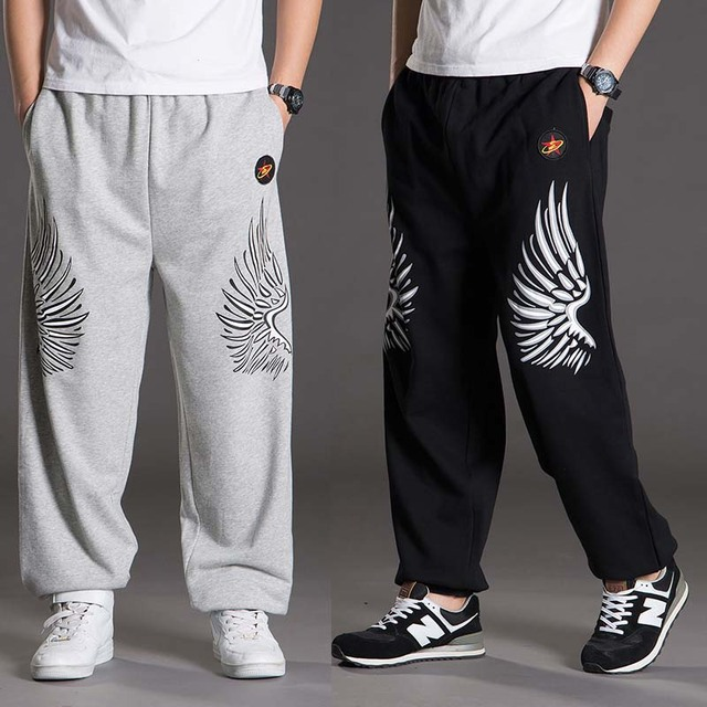 Baggy Joggingbroek Mannen.Lente Herfst Big Size Joggingbroek Mannen Hiphop Harembroek Losse