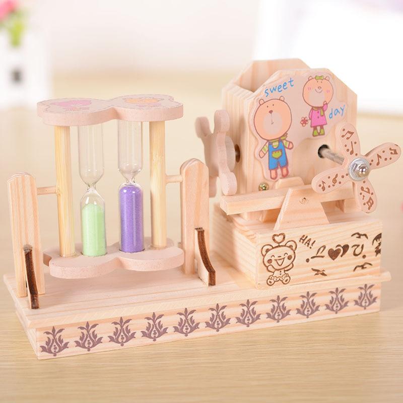 The music box music box gift birthday gift Christmas ornaments student teacher boyfriend or girlfriend