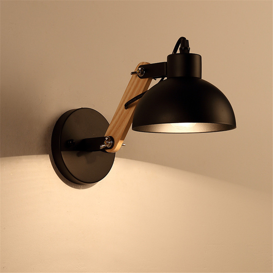 Creative-White-black-Simple-Light-Fixtures-Kitchen-Dining-Room-Bedroom-Foyer-Wall-Lamps-Indoor-Decoration