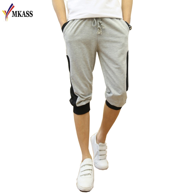 Patchwork Color New Style Summer Men's Fashion Casual Shorts Hip Hop Loose Shorts Men Trousers Short