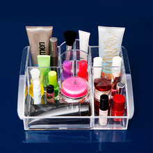 New Arrival Cosmetic Organizer Makeup Drawers Jewelry Display Box Acrylic Clear Cabinet Case 1280