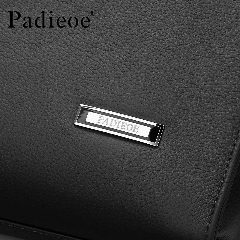 Best quality genuine real leather laptop bags 3