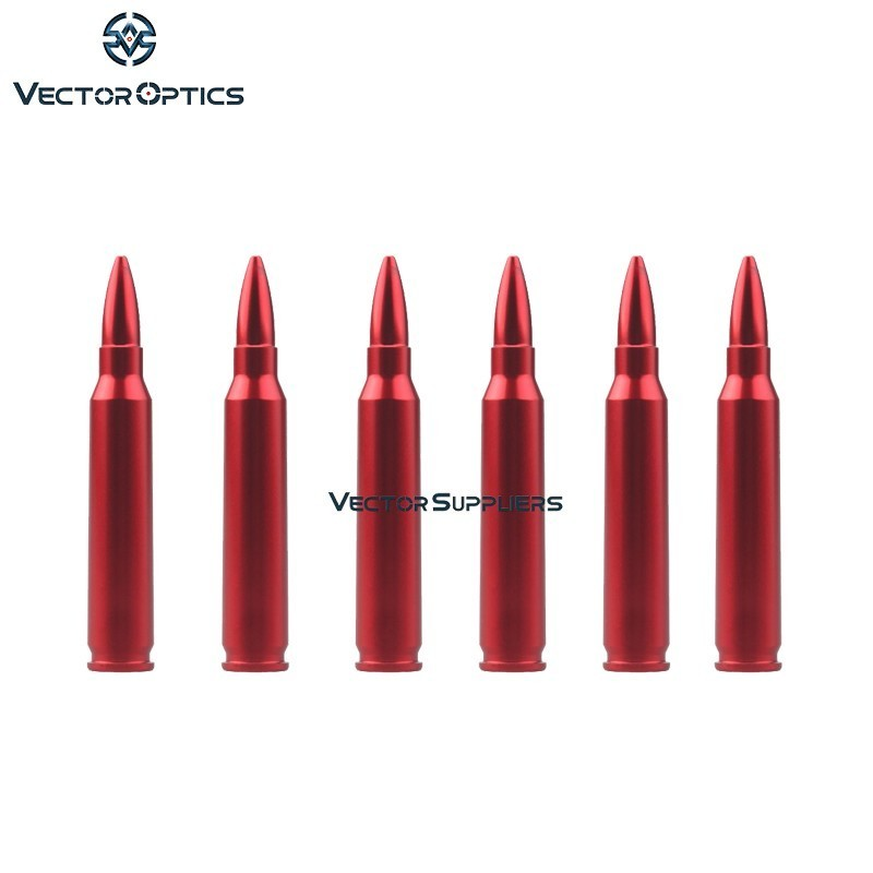 Векторная оптика, 6 шт., цельнометаллическая защелкивающаяся КРЫШКА ДЛЯ 7,62x39 мм для оружейных и тренировочных работ