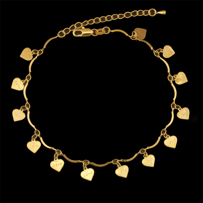 fashion wholesale pure jewelry suppliers gold at anklet and showroom com anklets alibaba manufacturers designs