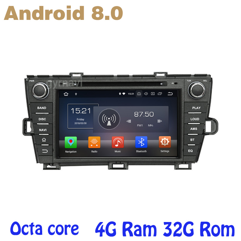 Android 8.0 car dvd gps for toyota prius 2009-2013 with Octa core PX5 4G RAM 32G ROM wifi 4g usb auto Multimedia ownice c500 4g sim lte octa 8 core android 6 0 for kia ceed 2013 2015 car dvd player gps navi radio wifi 4g bt 2gb ram 32g rom