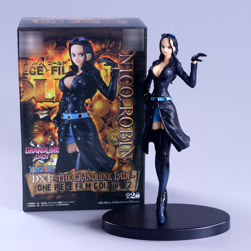 One Piece Sexy Figure DXF The Grandline Lady Vol.2 Nico Robin PVC Action Figures Collectible Model Toys Doll 14cm