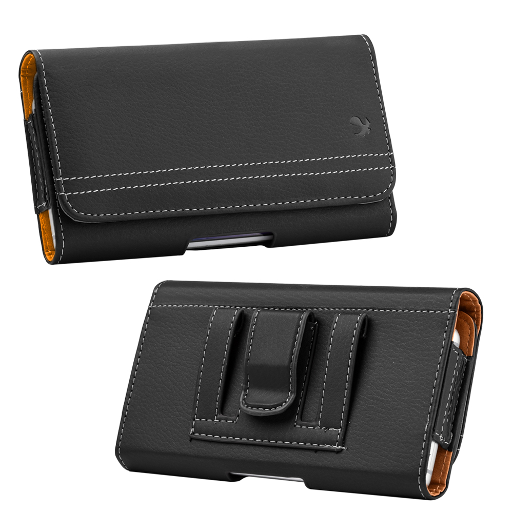 Luxmo Universal Leather Wallet Belt Clip Pouch Phone Case For For iPhone Samsung Huawei Xiaomi 4.7 inch Mobile Case Cover