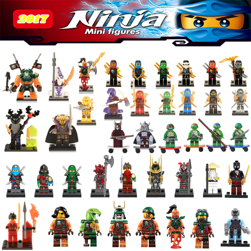 Ninja Kai Cyren Doubloon Nadakhan Clancee lepin Bucko Aciton Figures Blocks Models & Building Toys gifts for children