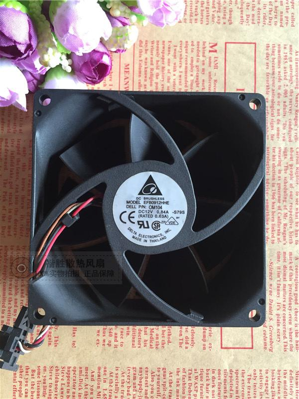 Delta Electronics EFB0912HHE -S79S Server Square Fan DC 12V 0.84A 92X92X38mm 4-wire