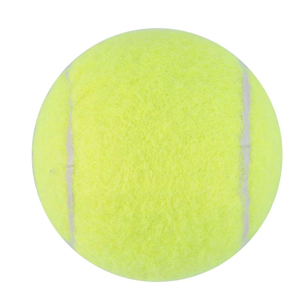 OUTAD Yellow Tennis Ball Sports Tournament Outdoor Fun Cricket Beach Dog Activity Game Toy MC Tennis  Practice Training Balls