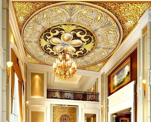 Große 3D Decke Wandbilder Wallpaper Für Wände 3 d Für wohnzimmer ...