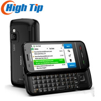 FREE SHIPPING ORIGINAL C6 Unlocked Black 5MP Touchscreen Cell Phone