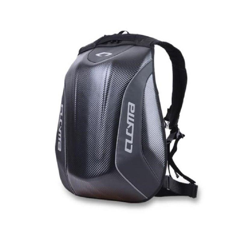 New Motorcycle Backpack Carbon Fiber Motocross Racing Riding Helmet Bag Motorbike Knight Backpack