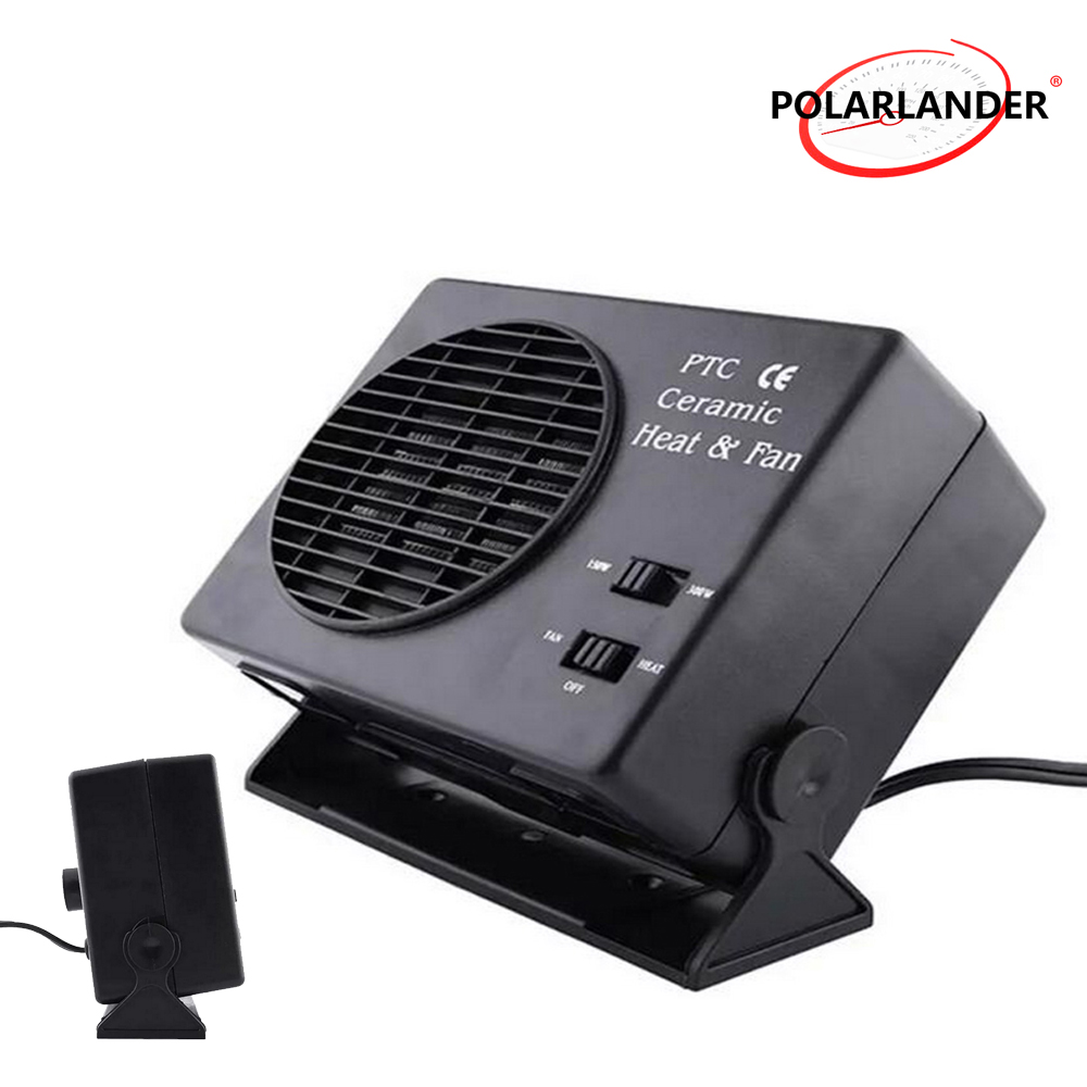 12V 150W//300W Ceramic Car Fan Heater Heating Cooling Defroster Demister For Sale