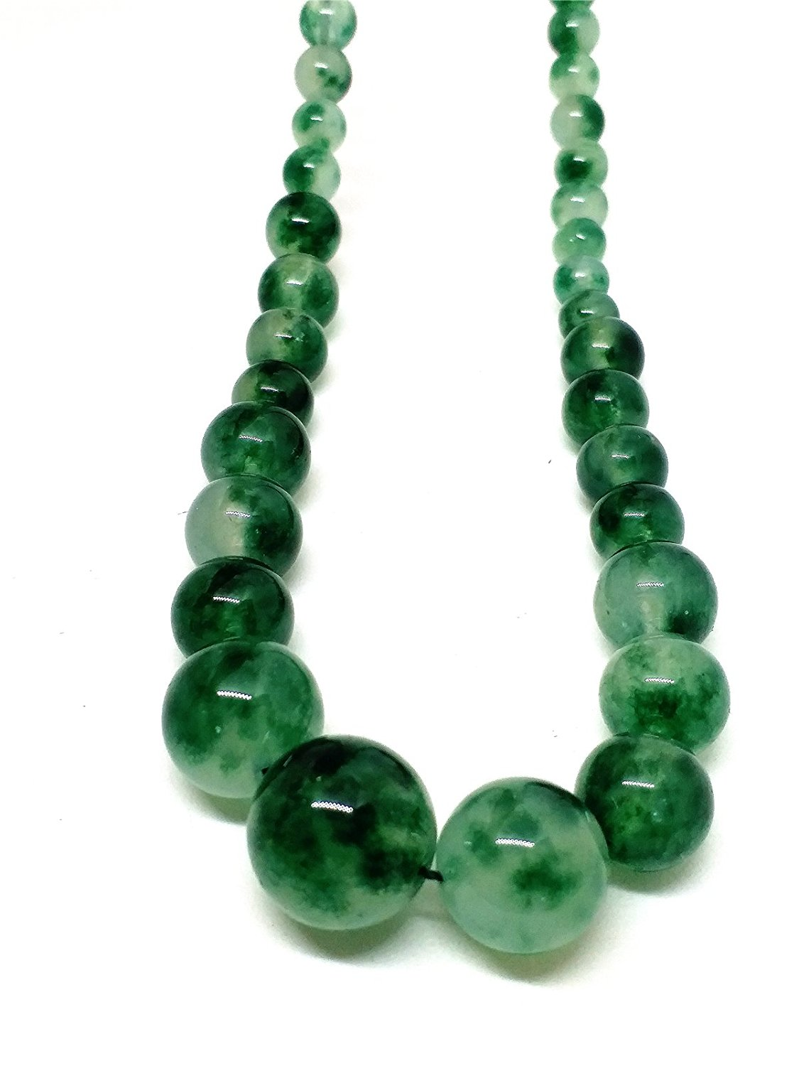 Koraba Fine Jewelry Natural JADE Jadeite Bead Flower Necklace Free ShippingKoraba Fine Jewelry Natural JADE Jadeite Bead Flower Necklace Free Shipping