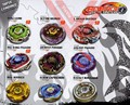 1 sets Beyblade Metal Fusion 4D System Battle Top Metal Fury Masters with Launcher  7 styles can choose
