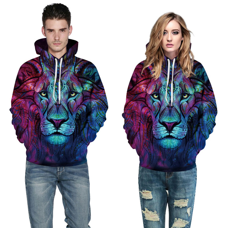 New Fashion Men/Women 3d Sweatshirts Print Paisley Flowers Lion New Fashion Men/Women 3d Sweatshirts Print Paisley Flowers Lion HTB1liqcSpXXXXbTXXXXq6xXFXXXR