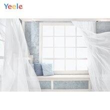 Yeele Photography Backdrops Interior white window scene Curtain Wedding Customized Photographic Backgrounds For The Photo Studio