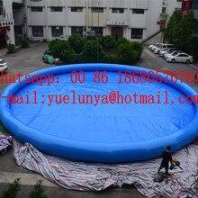 Китай, Гуанчжоу) завод прямой надувной горки/надувной бассейн, надувной бассейн, большой бассейн на заказ YLY-0115
