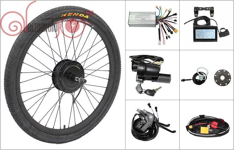 Free Shipping 36V 350W 8Fun Bafang Front Hub Motor Ebike Conversion Kit Controller, Throttle, Brake For Electric Bicycle цена