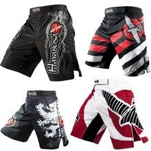 Мужские боксерские трусы с принтом MMA шорты MMA Fight Grappling Короткие штаны Kickboxing гель бокс Bjj Muay тайские штаны шорты для тайского бокса