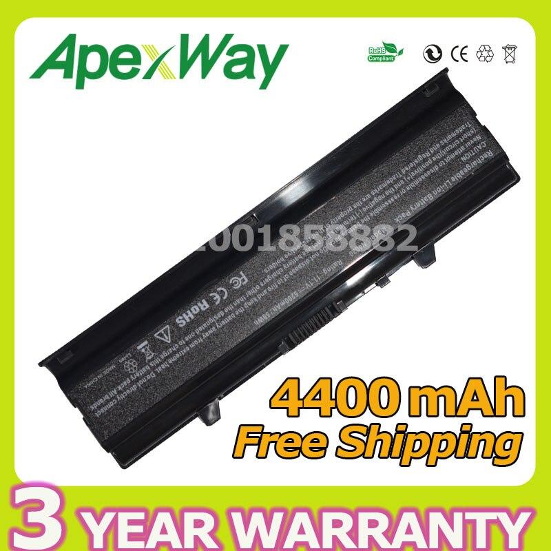 Apexway Laptop Battery For DELL Inspiron 14V 14VR M4010 N4020 N4020D N4030 N4030D 0KCFPM 0M4RNN 312-1231 KG9KY TKV2V W4FYY X3X3X