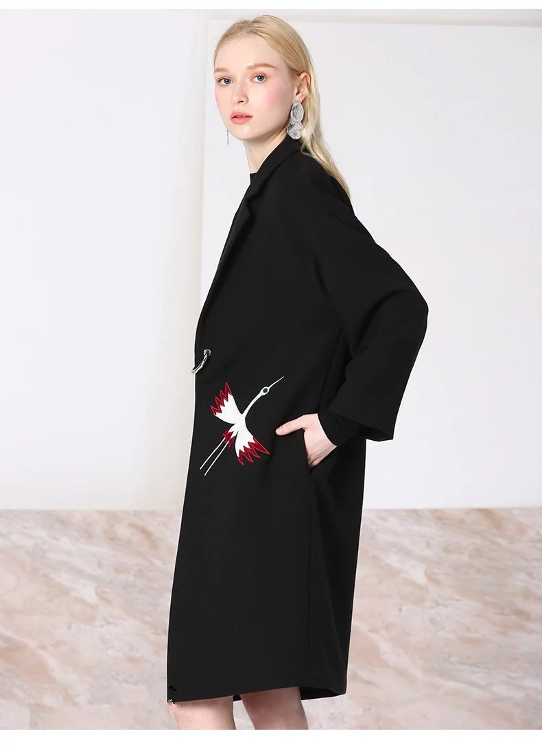 Compare Prices on Black Coats Women- Online Shopping/Buy Low Price ...