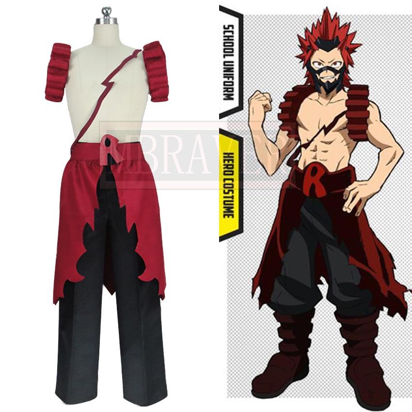 US $79 88 |My Hero Academia Boku no Hero Academia Eijiro Kirishima Cosplay  Costume-in Anime Costumes from Novelty & Special Use on Aliexpress com |