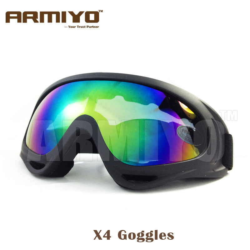 Armiyo X4 Goggles UV400 Anti-UV Windproof Snowboard Skate Motorcycle Cycling Sunglasses Skiing Eyewear